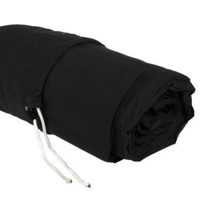 Savage Accent Solid Muslin Achtergronddoek 3.04 x 7.30 meter Black