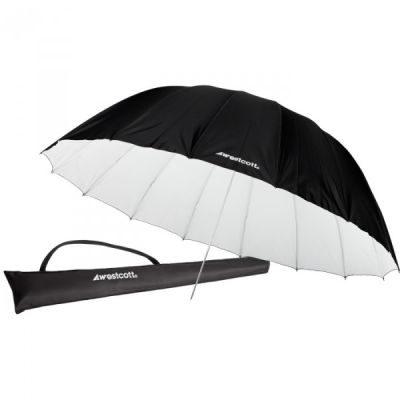 Westcott 4633 Silver Diffusion Parabolic Umbrella (213cm/7')
