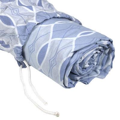 Savage Accent Retro Muslin Achtergronddoek 3.0 x 3.7 meter Baby Blue