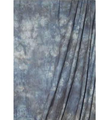 Savage Crushed Muslin Achtergronddoek 3.04 x 7.30 meter Blue Winter