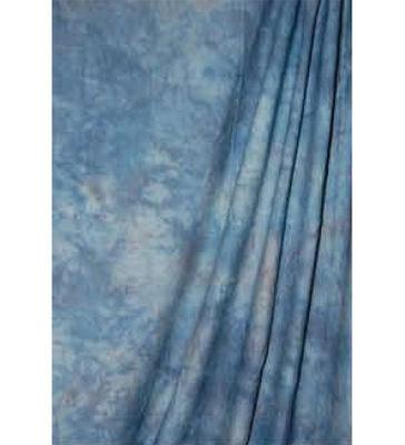 Savage Crushed Muslin Achtergronddoek 3.04 x 7.30 meter Apex Blue