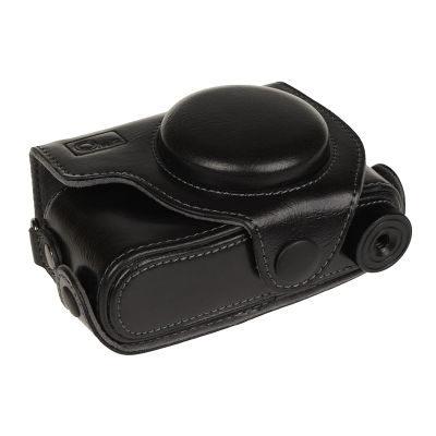 ONE OC-S90B Leathercase voor Canon PowerShot S90, S95