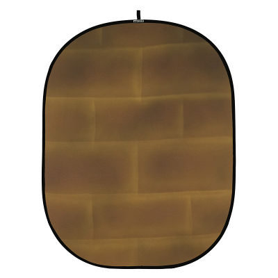 Botero Opvouwbare Achtergrond 150 x 200cm (Brick Brown/Yellow nr.069)