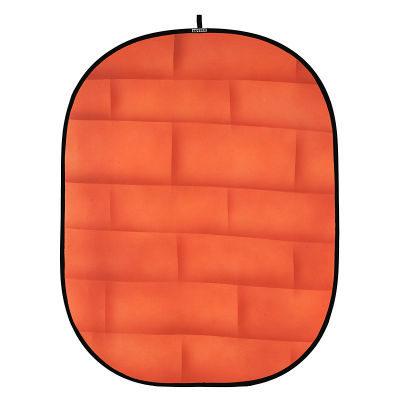 Botero Opvouwbare Achtergrond 150 x 200cm (Brick Orange nr.072)