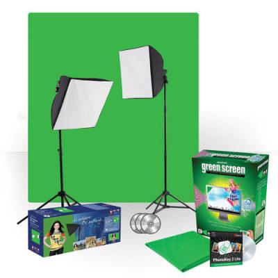 Westcott Photo Basics uLite Photo Green Screen Lighting Kit