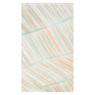 Botero Muslin Achtergronddoek 316 x 700cm Green/Orange/White nr. 054