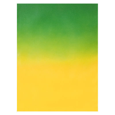 Botero Muslin Graduated 150 x 210cm Dark Green/Yellow nr. 401