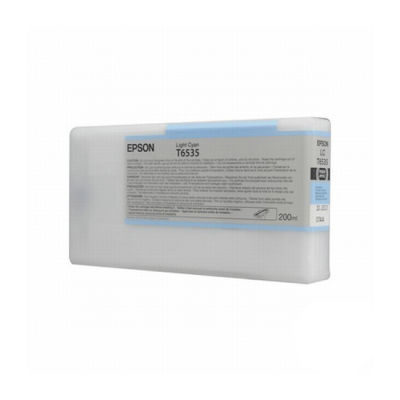 Epson Inktpatroon T6535 - Light Cyan 200ml (origineel)