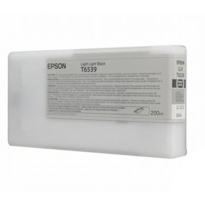 Epson Inktpatroon T6539 - Light Light Black 200ml (origineel)