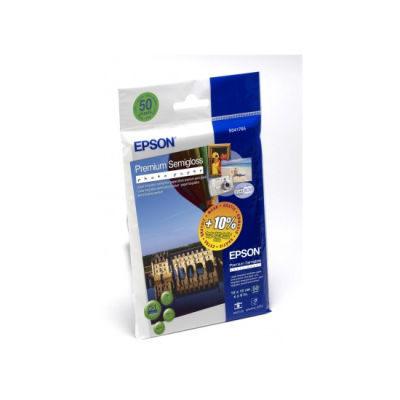 Epson Premium Semigloss Photo Paper, 10x15, 251g/m², 50 Sheets
