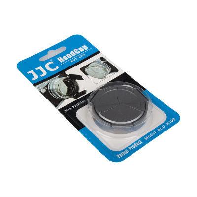 JJC ALC-X100(s) Zilver - Automatische Lensdop voor Fujifilm X100
