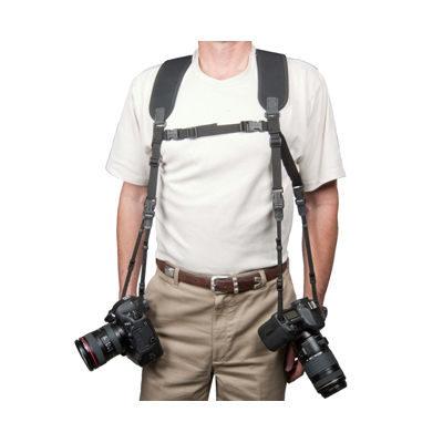 Op/Tech Dual Harness Strap Regular Black