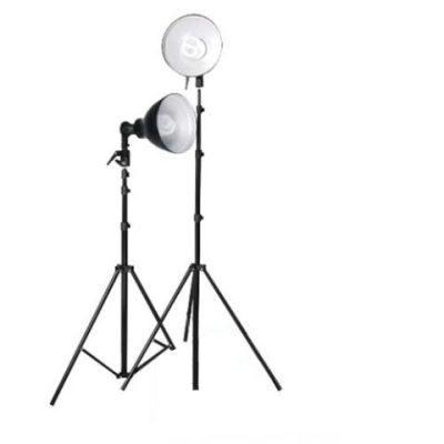 Falcon Eyes Continu Lichtset LHK-240 + Refl. 19cm + 40W Lampen