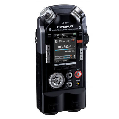 Olympus LS-100 Multi-Track Lineaire PCM-recorder