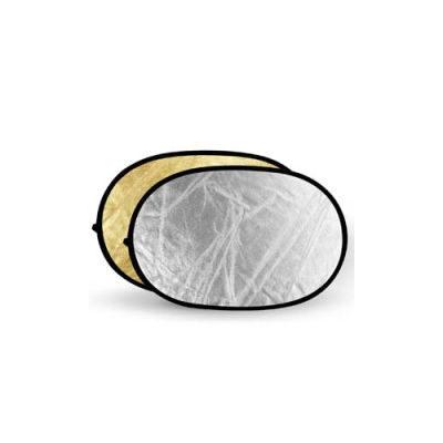 Godox Gold & Silver Reflector Disc - 60x90cm