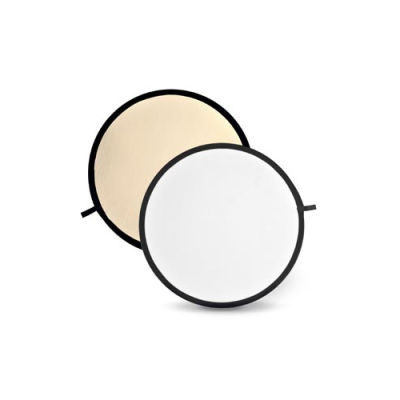 Godox Soft Gold & White Reflector Disc - 80cm