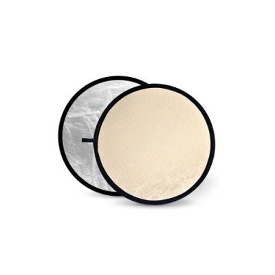 Godox Soft Gold & Silver Reflector Disc - 110cm