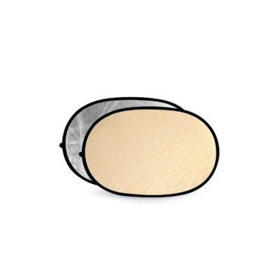 Godox Soft Gold & Silver Reflector Disc - 100x150cm