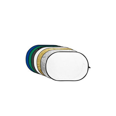 Godox 7-in-1 Gold, Silver, Black, White, Translucent, Blue, Green - 80X120cm