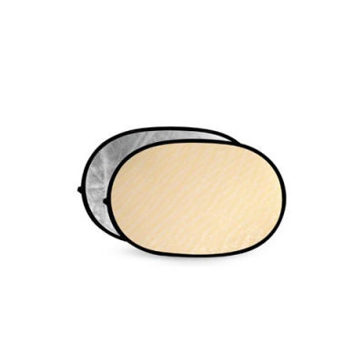 Godox A Grade Soft Gold & Silver Reflector Disc - 60x90cm