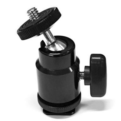 Cineroid MBH-M Hot Shoe Adapter / Mini Ballhead