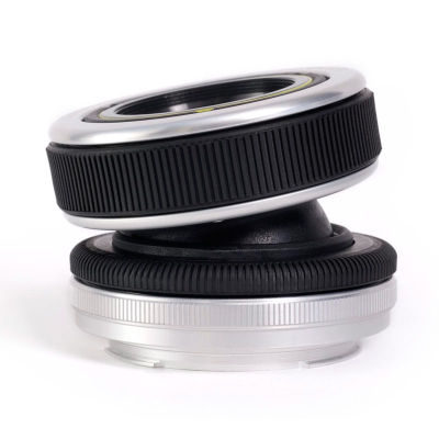 Lensbaby Composer Pro Sony NEX met Double Glass Optic objectief