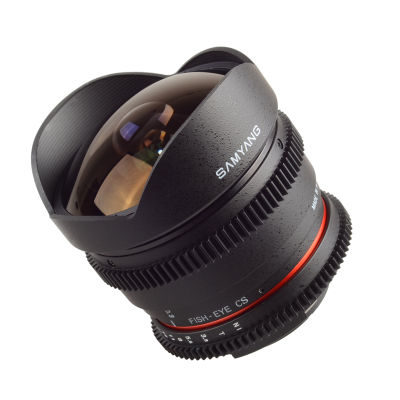 Samyang 8mm T3.8 VDSLR Diagonal Fisheye Nikon objectief