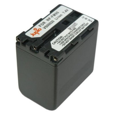 Sony NP-QM90/91 / NP-FM90/91 accu (Merk Jupio)