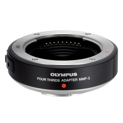 Olympus MMF-3 4/3-adapter voor Micro Four Thirds