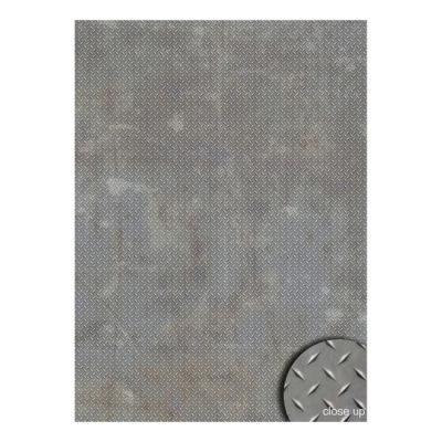 Savage Floor Drop Diamond Plate Gr. - 2.40 x 2.40 meter