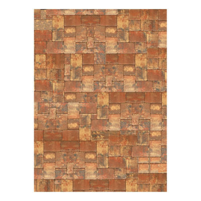 Savage Floor Drop Rustic Pavers - 2.40 x 2.40 meter