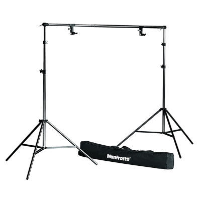Manfrotto 1314B Set Stands + Support + Tas