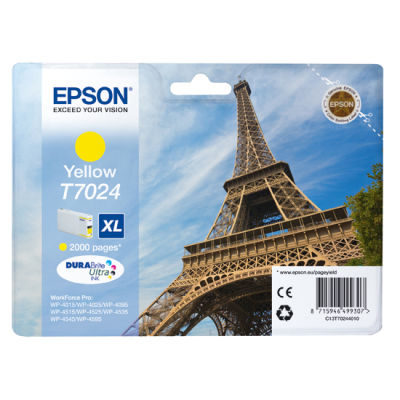 Epson Inktpatroon T7024 - Yellow High Capacity