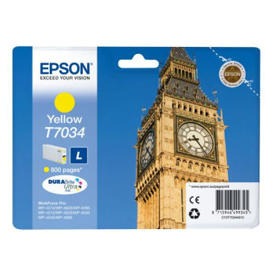 Epson Inktpatroon T7034 - Yellow Standard Capacity