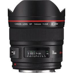 Canon EF 14mm f/2.8L II USM objectief - Verhuur