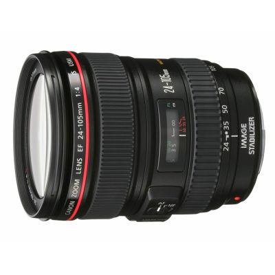 Canon EF 24-105mm f/4.0L IS USM objectief - Verhuur