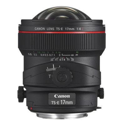 Canon TS-E 17mm f/4.0L objectief - Verhuur