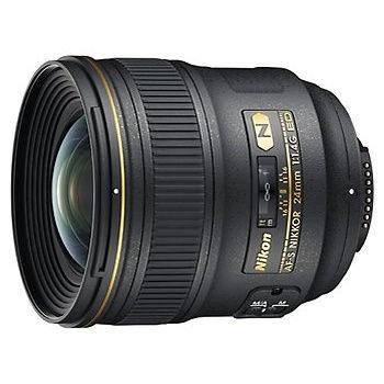 Nikon AF-S 24mm f/1.4 G ED objectief - Verhuur