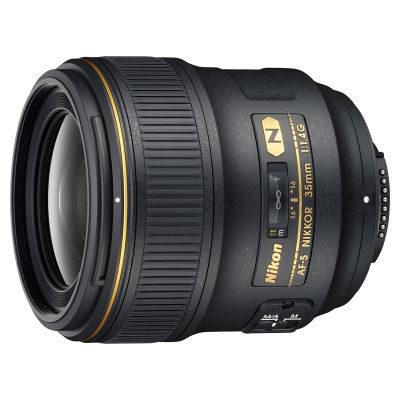 Nikon AF-S 35mm f/1.4G objectief - Verhuur
