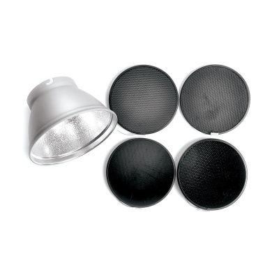 Elinchrom Grid Set - 21cm met Elinchrom Standaard Reflector VERHUUR