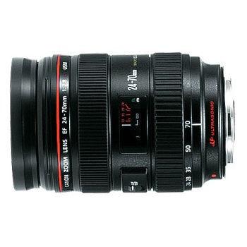 Canon EF 24-70mm f/2.8L USM objectief - Verhuur