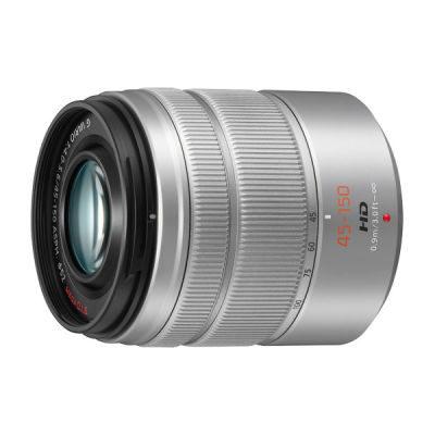 Panasonic Lumix G Vario 45-150mm f/4.0-5.6 ASPH Mega OIS objectief Zilver