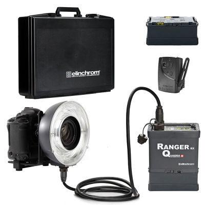 Elinchrom Ranger Quadra Li-Ion + Eco Ring + koffer + extra Li-ion battery