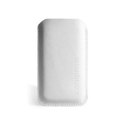 Mujjo iPhone Sleeve White