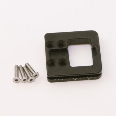 Nodal Ninja Lens Ring Plate LRP45x (45mm lang met uitsteekstel) voor Lens Ring Clamp R1-R10