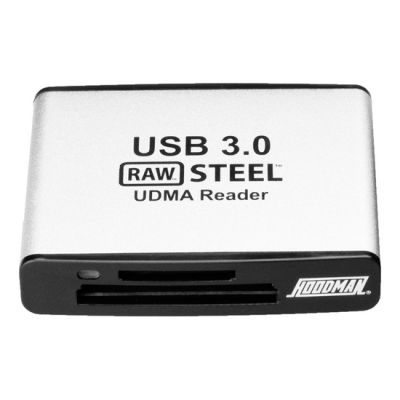 Hoodman RAW Steel Superspeed UDMA USB 3.0