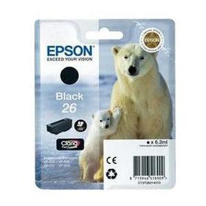 Epson Inktpatroon 26 - Black Standard Capacity