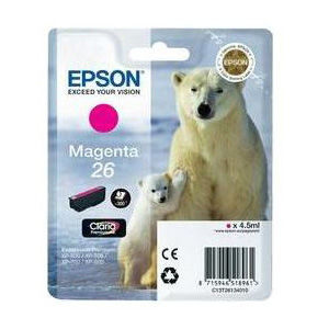 Epson Inktpatroon 26 - Magenta Standard Capacity