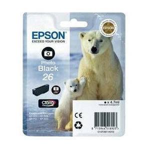 Epson Inktpatroon 26 - Photo Black Standard Capacity