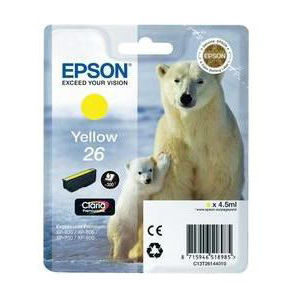 Epson Inktpatroon 26 - Yellow Standard Capacity